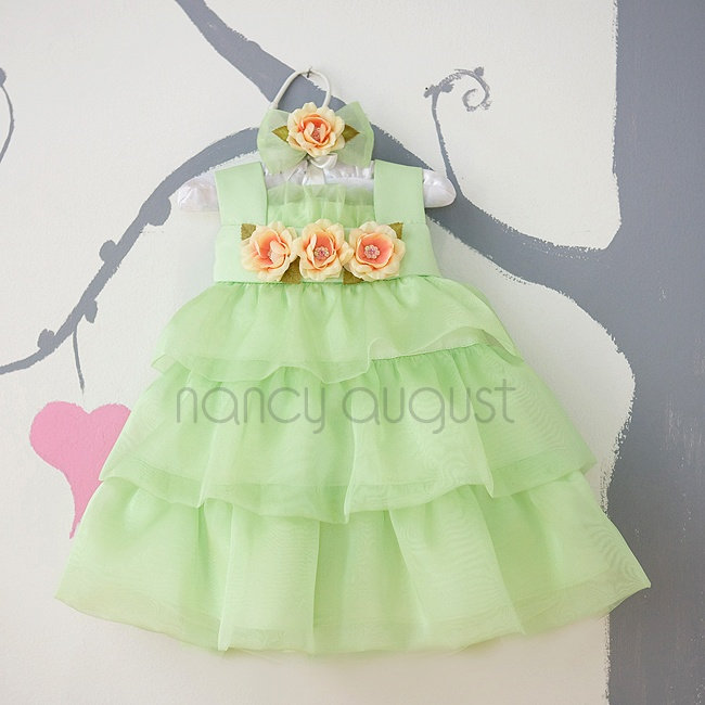 1000  images about Green Baby Dresses on Pinterest  Baby dresses ...