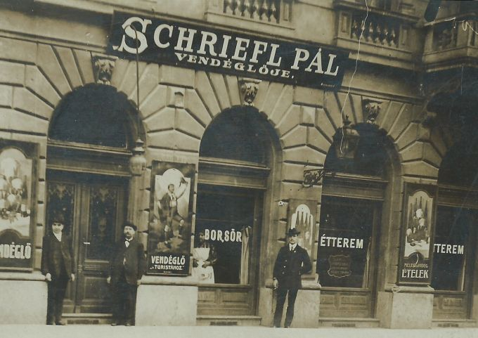 Ráday street before WWI