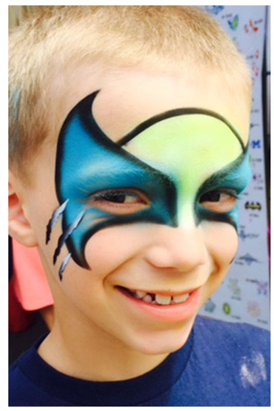 Product Info Produce professional face paint designs with ease using StencilEyes. Boys will feel like one of the X-man characters. Start earning big money right away without having to spend years in t