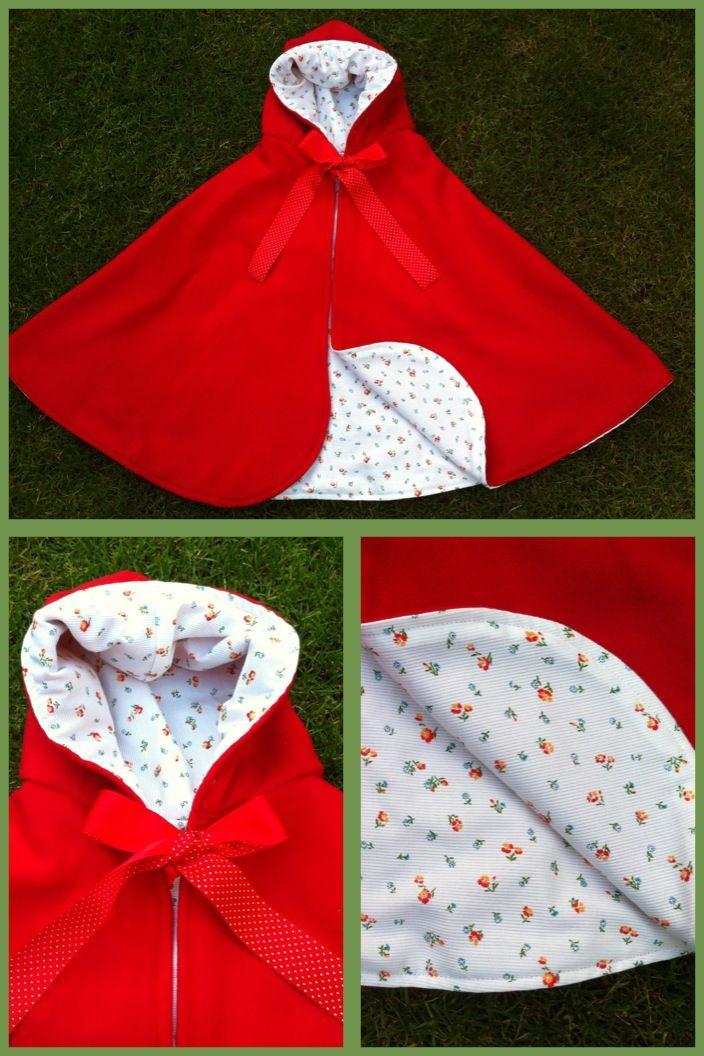 Little red ridinghood cape / roodkapje cape