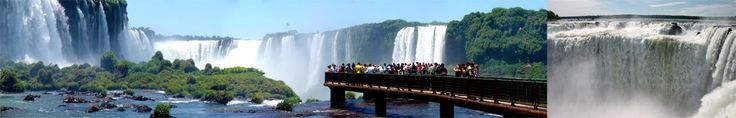 Iguazu Falls -The mightiest waterfall on earth - Birth: A long time ago Location: On the border between Brazil and Argentina Architect: Earth