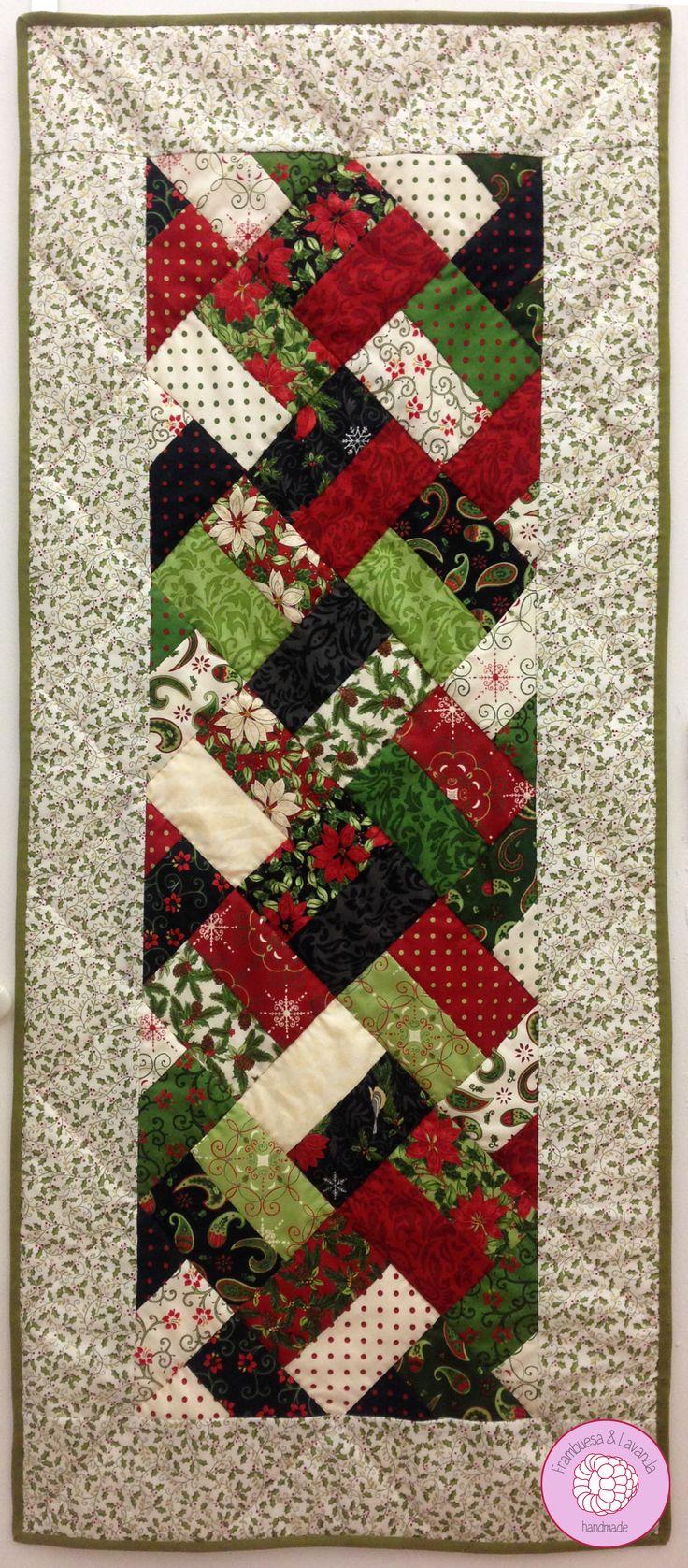 camino de mesa #patchwork #handmade #navidad                                                                                                                                                                                 Mais