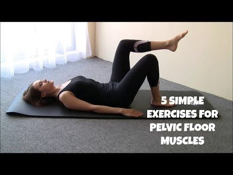 5 Pilates Exercises for Pelvic Floor Muscles - YouTube