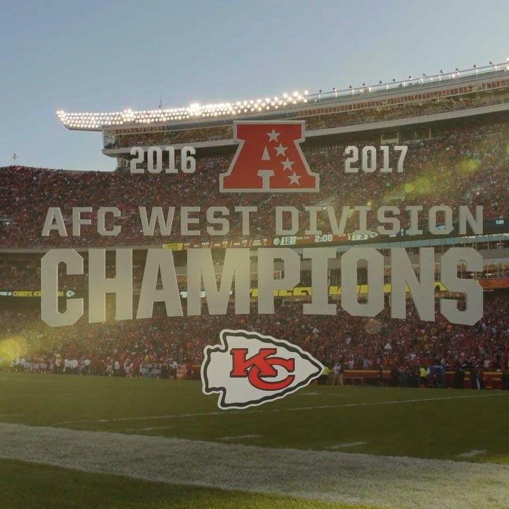 Kansas City Chiefs On Instagram Back To Back Afc West Champs Chiefskingdom Instagram Kansas City Chiefs Kansas City Chiefs Football Kansas City