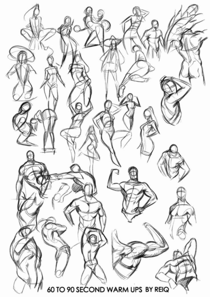 Warm ups drawings, that will change you life. by reiq.deviantart.com on @deviantART