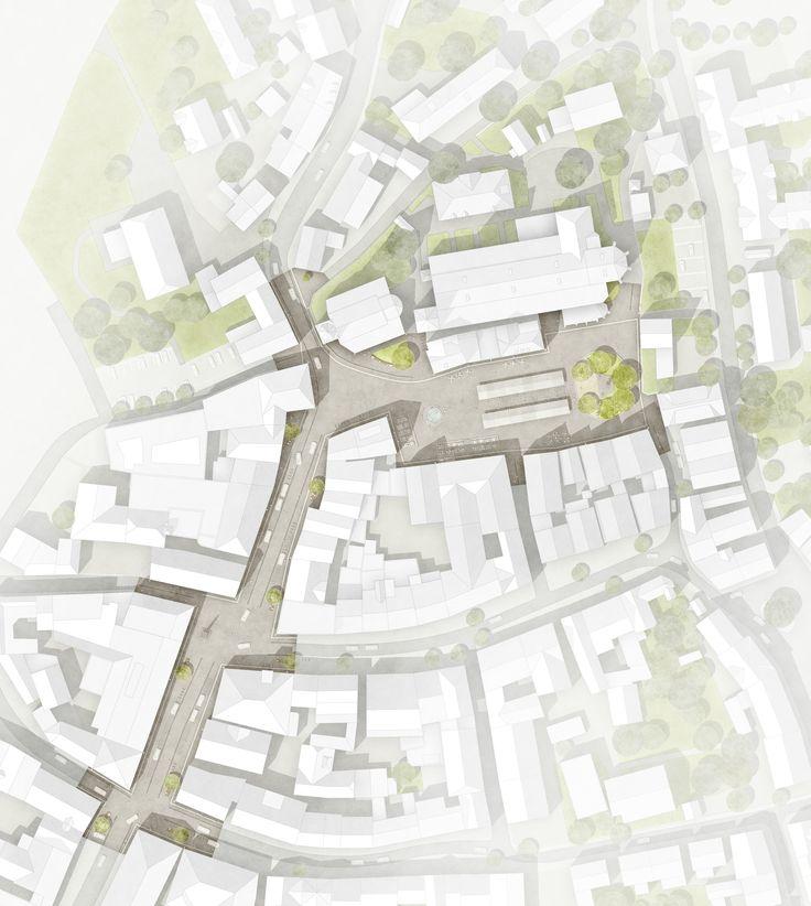 """Levin Monsgny (2017): Neugestaltung der Freianlagen """"Auf dem Plan"""" und """"Stadtpla…"""