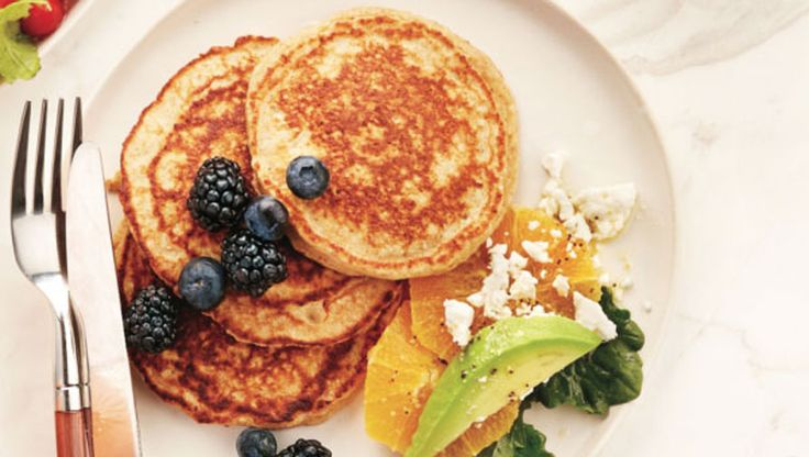 Add flaxseeds to your diet by adding them to your pancakes!