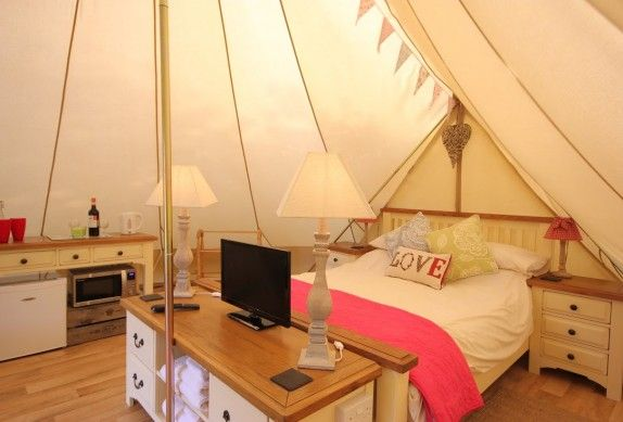 now - glamping-norfolk-deers-glade-bell-tent-inside-574x389