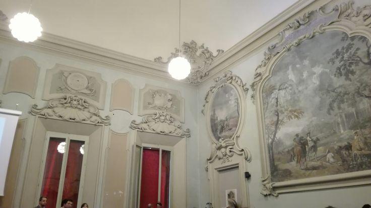 Sala delle Armi - Palazzo Malvezzi dè medici, Bologna (Italy)