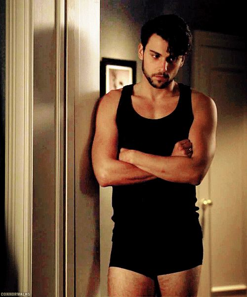 He looks better in black than any other person on the planet. | 18 Times Jack Falahee Mystified Us With His Perfection