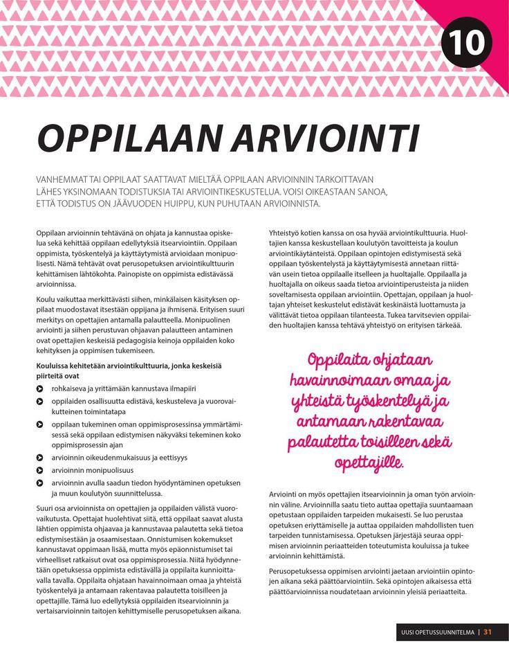 Pureudu perusopetukseen Opas uuteen opetussuunnitelmaan 2016 // Lappeenrannan kaupunki