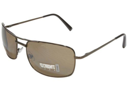Big and Tall Aviator Sunglasses Extra Large (Bronze/Brown)