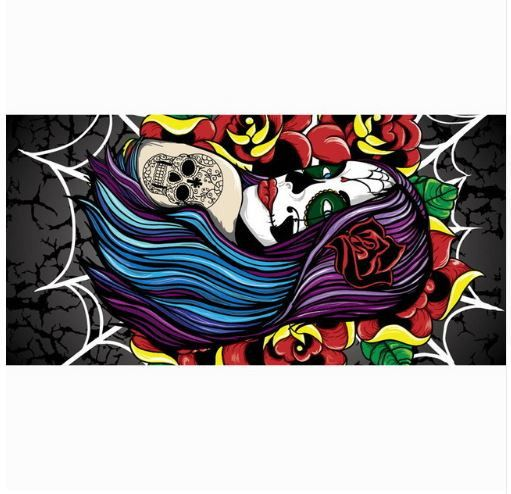 Check out our new item Sugar Skull Beach.... Just added today get it here http://everythingskull.com/products/sugar-skull-beach-towel-fashion-bath-towels-100-bamboo-fiber-swimming-towel-1?utm_campaign=social_autopilot&utm_source=pin&utm_medium=pin