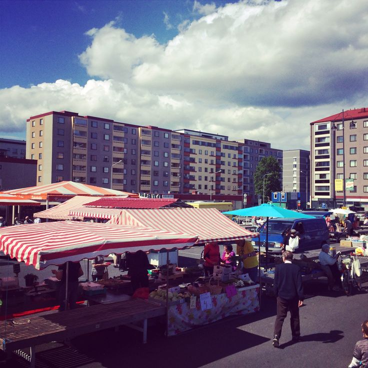 Tammela Market Square.