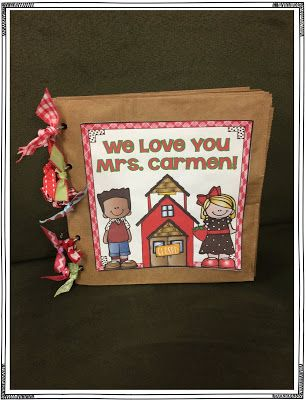 Classroom Volunteer Thank You Gift: Personalized and cute!