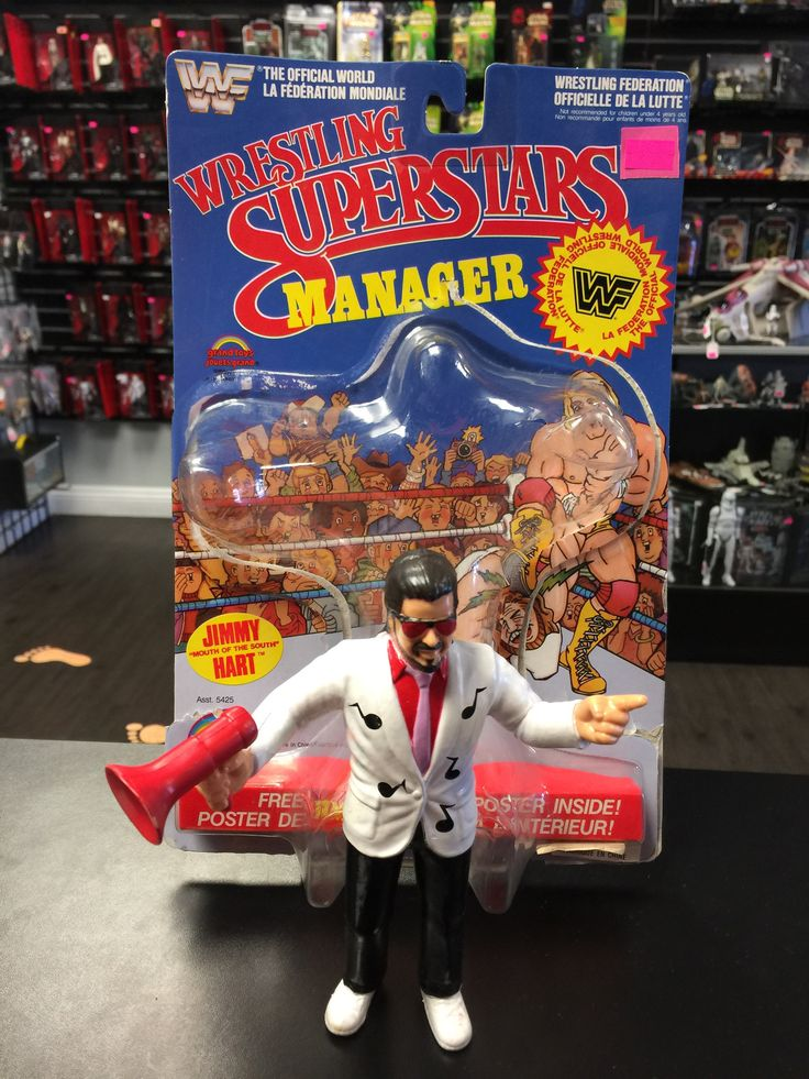 WWF Wrestling Superstars Jimmy Hart LJN