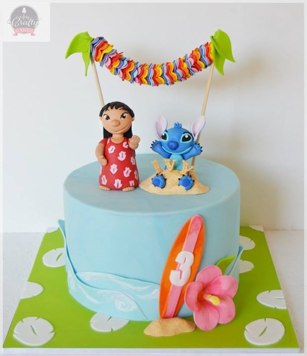 Lilo Stitch Cake For All Your Cake Decorating Supplies Please