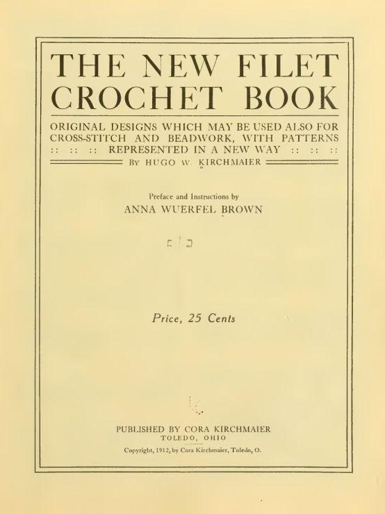 (3) Gallery.ru / Фото #2 - New Filet Crochet book - 1912 - irinask