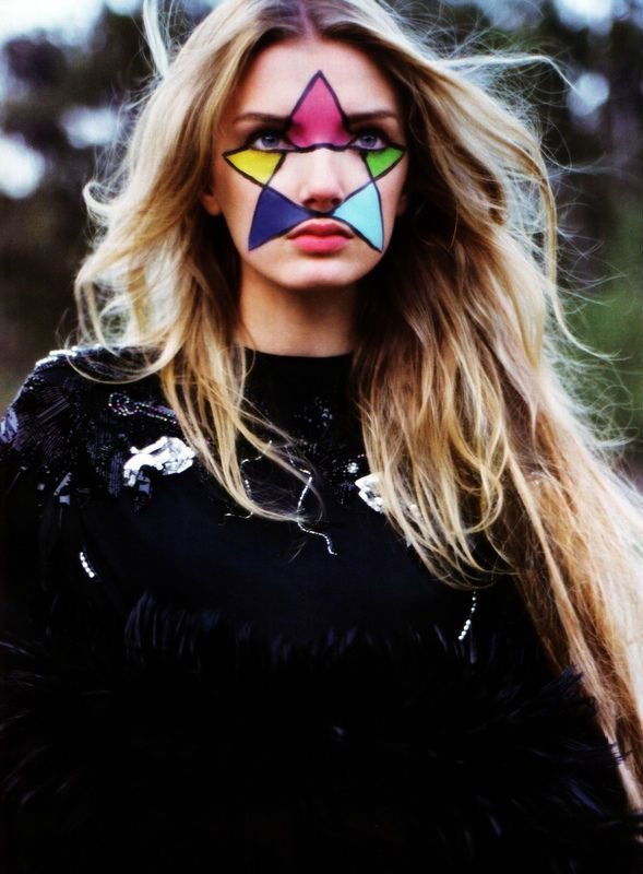 Fun facepaint ideas for festivals and parties!