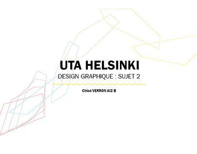 """Check out new work on my @Behance portfolio: """"Créer toute l'identité graphique d'UTA Helsinki"""" http://be.net/gallery/46916329/Crer-toute-lidentit-graphique-dUTA-Helsinki"""
