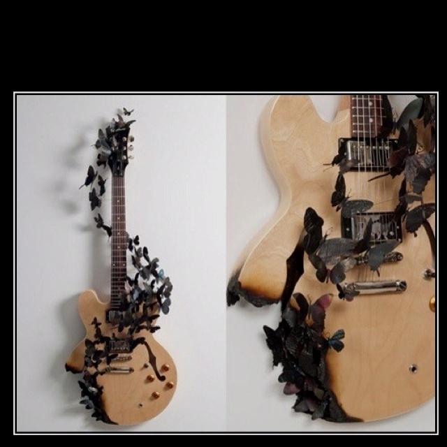 Taking An Old Guitar
