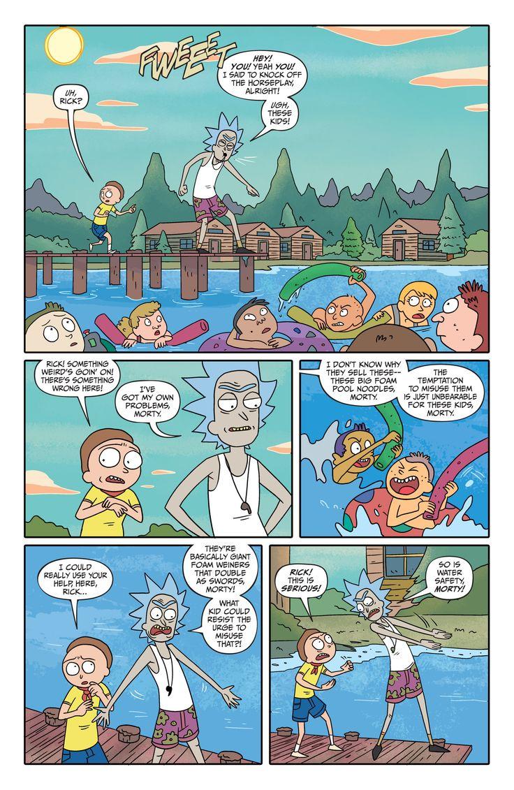 Rick and Morty Issue #5 - Read Rick and Morty Issue #5 comic online in high…