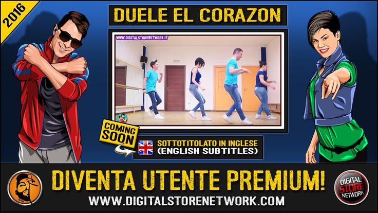 "Joey&Rina "" DUELE EL CORAZON "" || Impara i Passi || Balli di Gruppo 2016..."