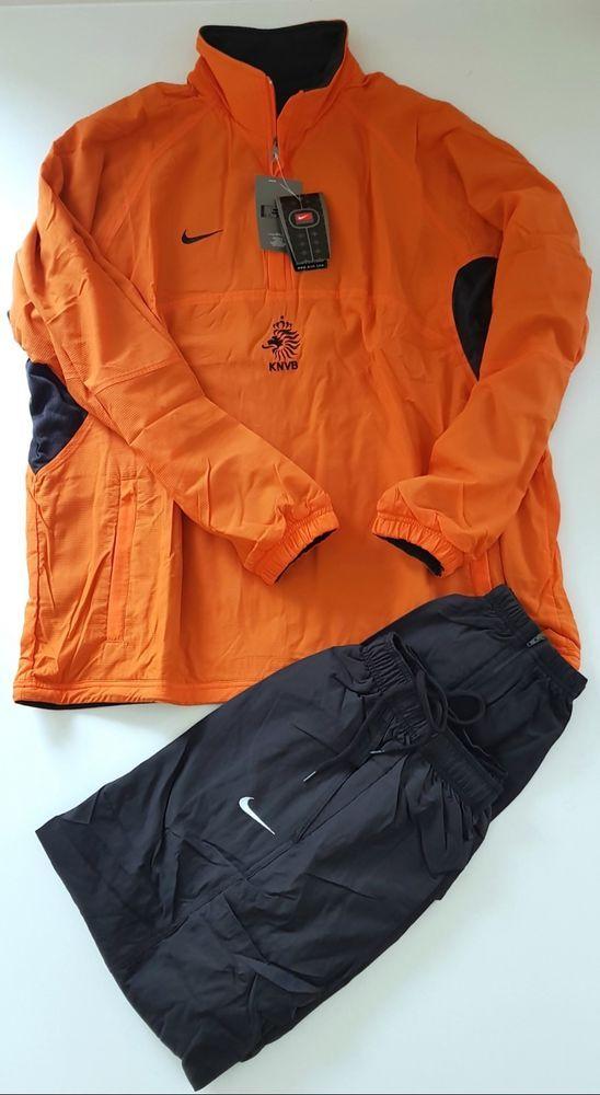 c5756dc6c271cc NIKE HOLLAND VTG 1998 PLAYER ISSUE TRACKSUIT NETHERLANDS FOOTBALL SOCCER OG  L  Nike