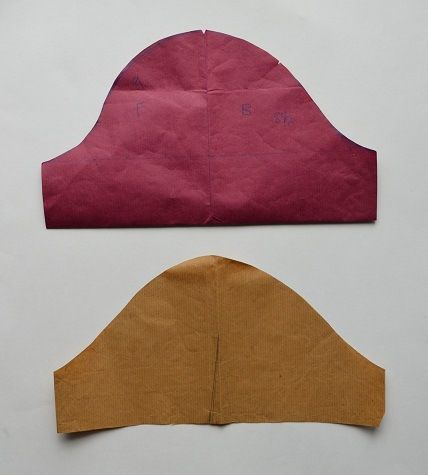Sewing Tutorial: How the shape of a sleeve cap affects the fit http://www.ikatbag.com/2014/03/subtelties-in-drafting-sleeves.html