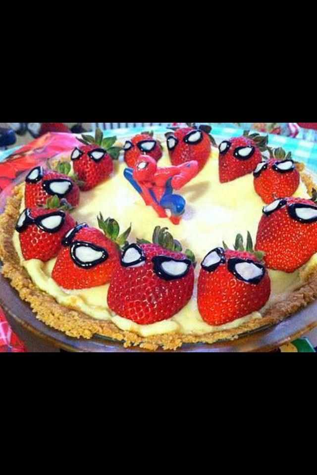 Spider-man cheesecake