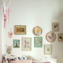 Une chambre bohème colorée