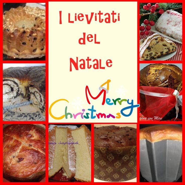 I livitati del Natale Sta arrivando Natale e a molte di noi pasticcione piace fare i dolci in casa nonostante sia più semplice comprarli. Ma volete metter