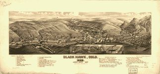 Bird's eye view of Greeley, Colo. county seat of Weld Co. 1882.  | Library of Congress