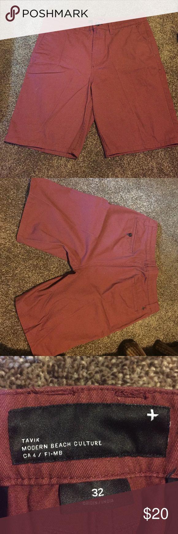 Maroon shorts Never worn maroon shorts Tavik Shorts Flat Front