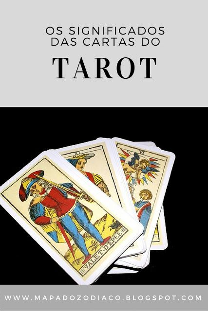 significados das cartas do tarot