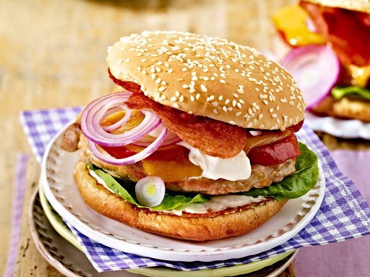 122 best burger sandwich baguette images on pinterest cooking recipes savory snacks and box. Black Bedroom Furniture Sets. Home Design Ideas