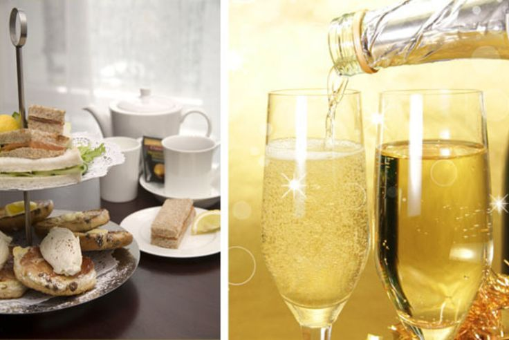 Afternoon Tea & Bubbly for 2