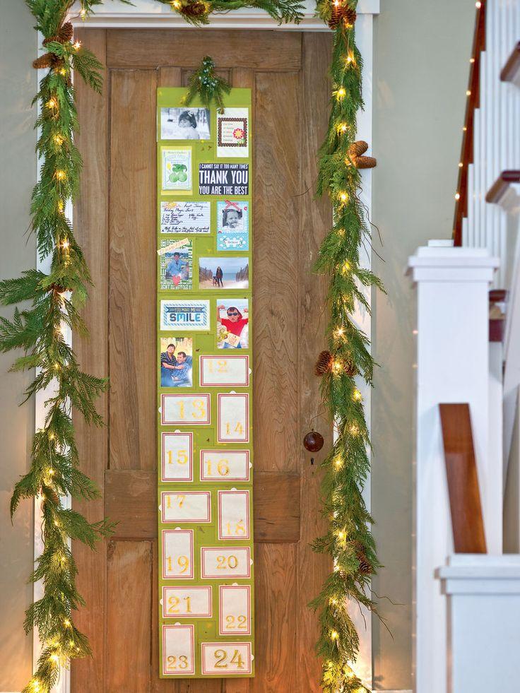DIY Advent Calendar - Add Photos, Poems, Recipes or Momentos