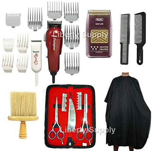 LIBERTY SUPPLY Personal Grooming Tools Haircut at home DIY Professional Barbershop Hairsalon Barber / Hairstylist Hairdresser Cosmetology School Barber School Kit Wahl Designer Clipper Wahl Peanut Trimmer Wahl 5-Star Razor Com…  http://www.thecoiffeur.com/liberty-supply-personal-grooming-tools-haircut-at-home-diy-professional-barbershop-hairsalon-barber-hairstylist-hairdresser-cosmetology-school-barber-school-kit-wahl-designer-clipper-wahl-peanut-tri/
