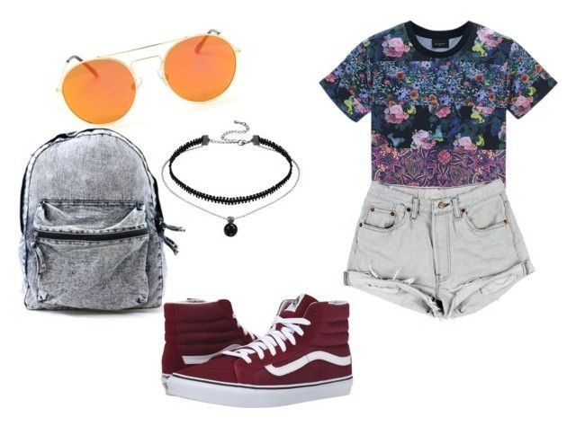 """""""Urban vacay!"""" by eline-storli on Polyvore featuring Retrò and Vans"""