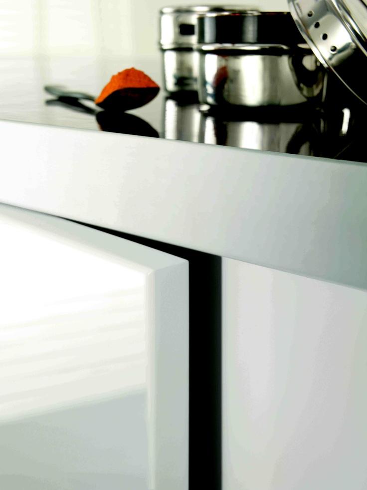 Laminex ColourTech Gloss Polar White.
