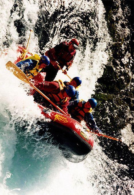 Rafting on wild river.  I've rafted the Ocoee, class 3 in N. Carolina.  It was FUN!