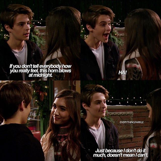 farkle and riley dating prowess