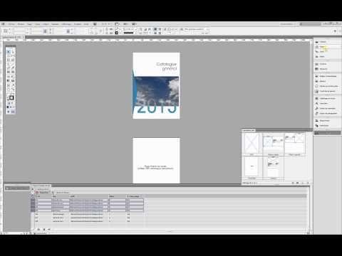 Mise en page automatique avec InDesign et EasyCatalog - YouTube