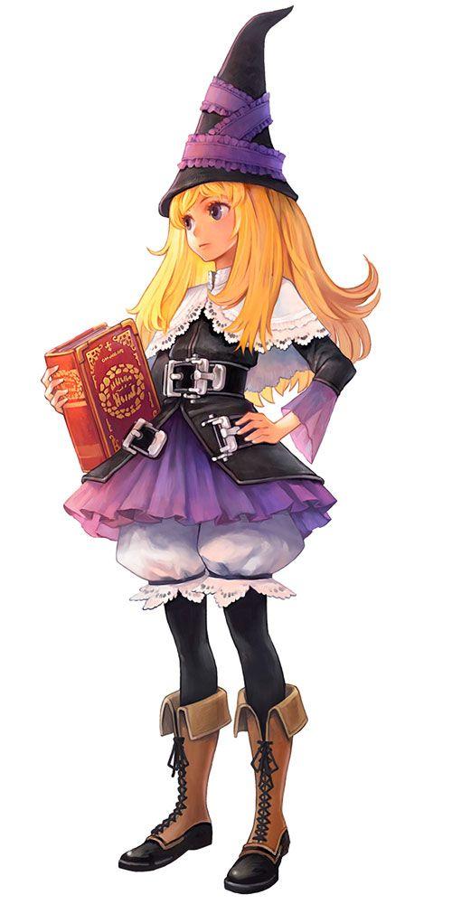 Lillet Blan - Characters & Art - GrimGrimoire