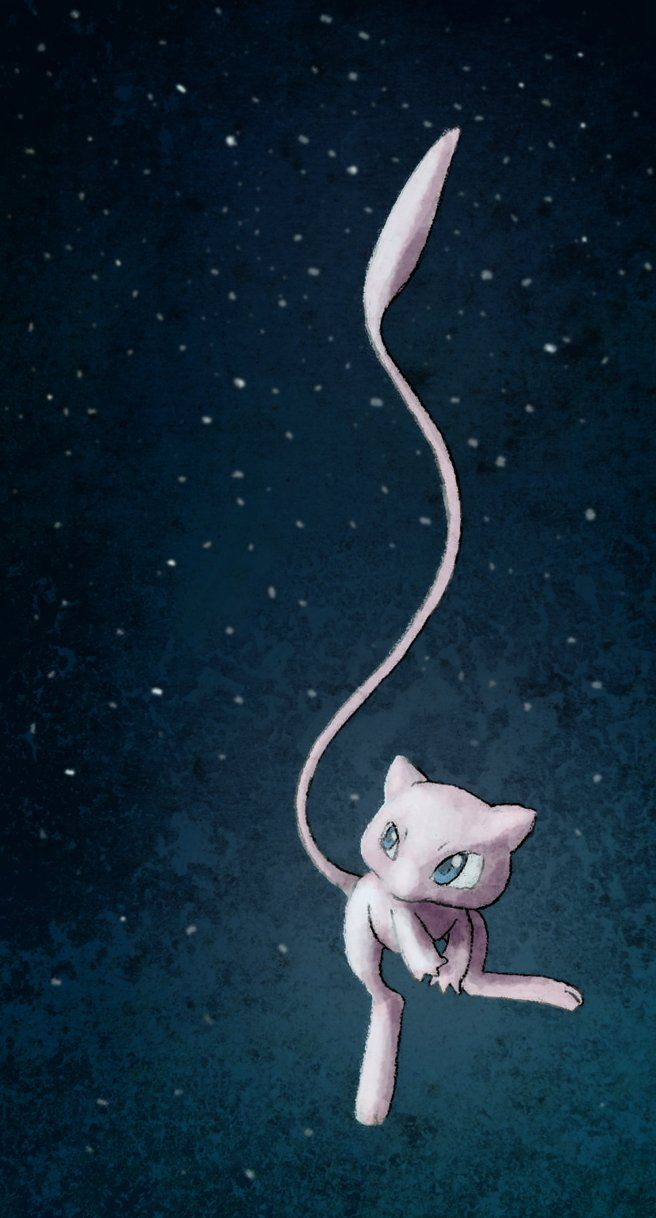 Mew, I think the most powerful and cutest pocket monster. ahiihiih.♥