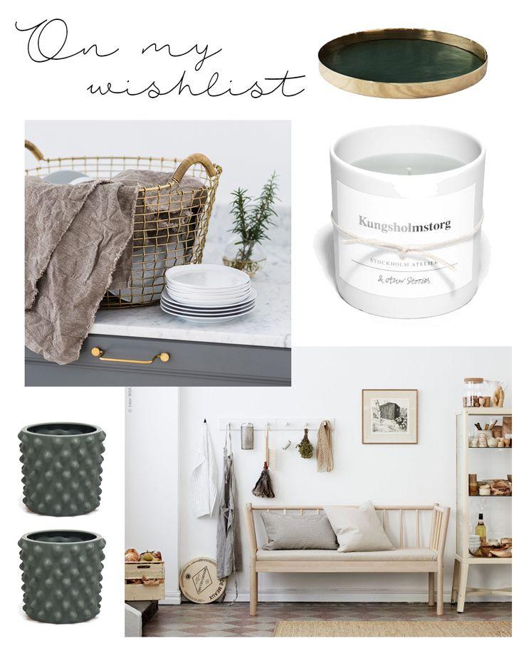 Nä, egentligen drömmer jag faktiskt om en platsbyggd bänk med förvaring i, men ända sedan jag såg IKEAs Björksnäs-kollektion så har soffan liksom slagit rot i mitt bakhuvud. Och så kommer Josefin och...