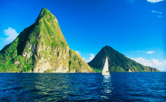 St Lucia honeymoon tours, make sure you see the Pitons!