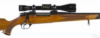 Weatherby Mark V bolt action rifle, 300 Weatherby magnum caliber, made in West Germany - Price Estimate: $400 - $600