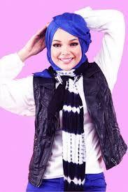 Dewi Sandra hijab look
